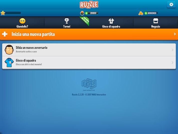 trucchi ruzzle gratis